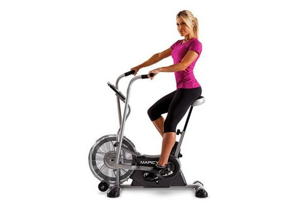 Marcy Upright Exercise Bike: AIR-1 Fan,ME-708,NS-40504u,NS